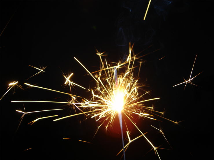 Picture Of Black Powder Sparks